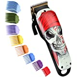 Cosyonall Hair Clippers for Men Professional Rechargeable Cordless Hair Trimmer Cutting Kit with Carbon Steel Blade 8 Colorfu