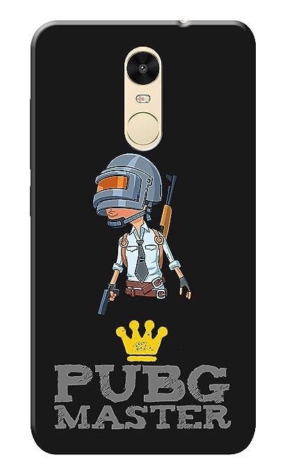 Cvanzi Back Hard Printed Cover Case For Redmi Note 4   Pubg Game Design