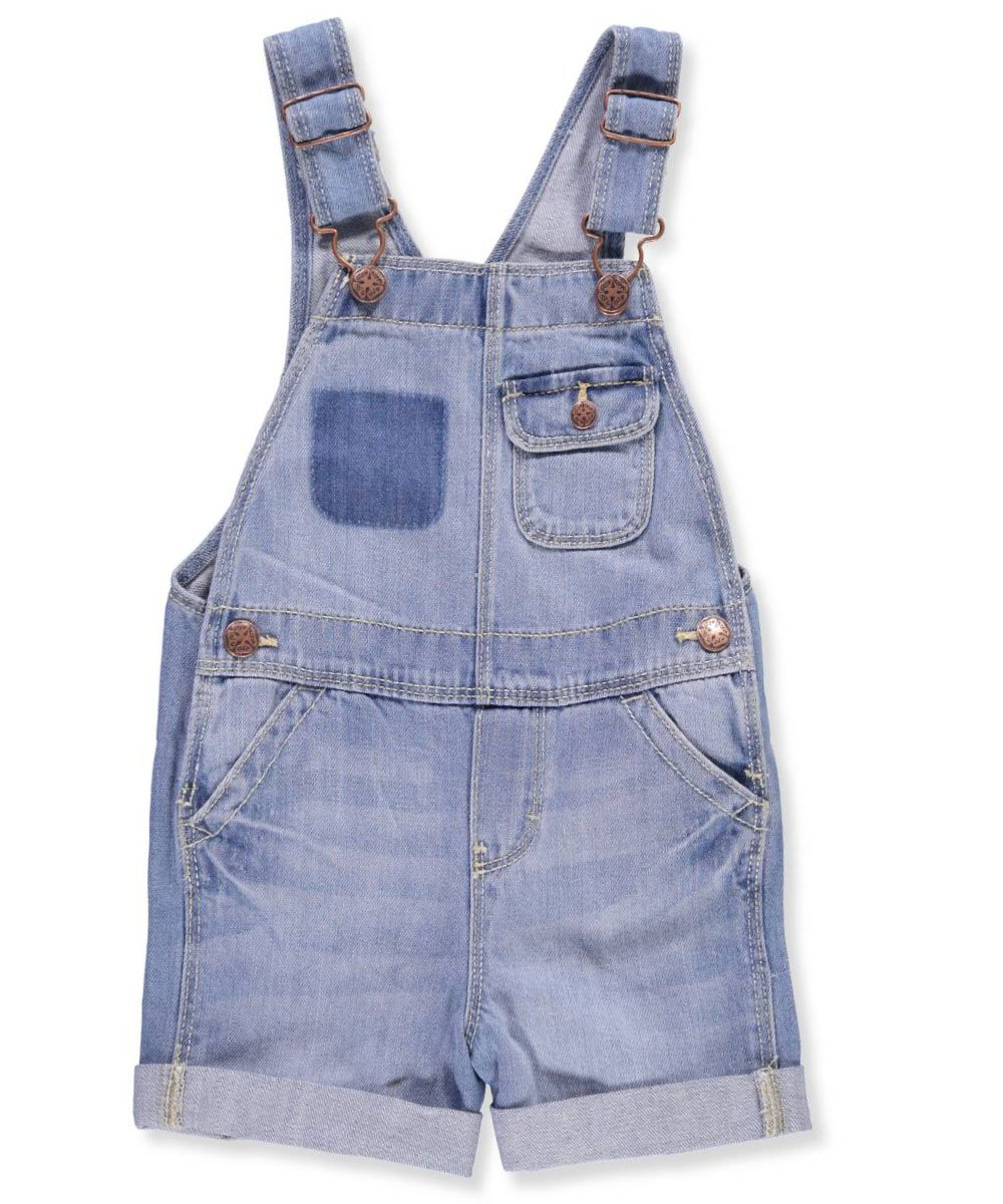 OshKosh B'Gosh Girls' 2T-5T Fashion Pocket Shortalls 4T by OshKosh B'Gosh (Image #1)