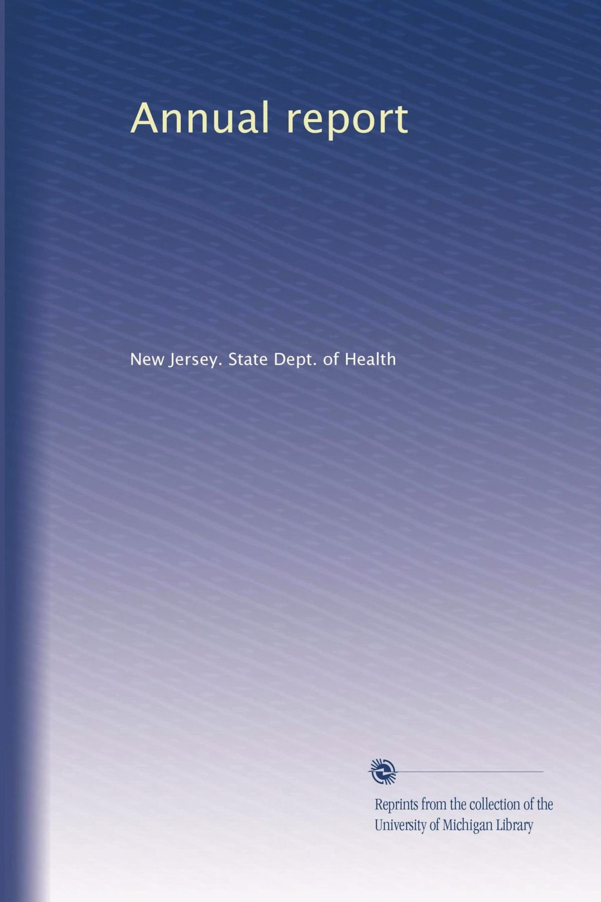 Download Annual report (Volume 27) pdf epub