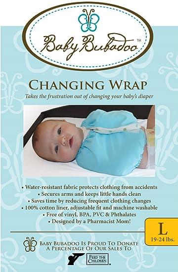 Amazon.com: Pañal del bebé Bubadoo Cambio Wrap ~ Rosa Tamaño ...