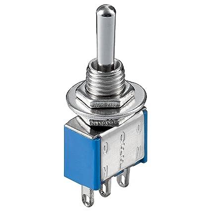 KNX 3 - Interruptor de palanca (encendido-apagado-encendido, con terminales para