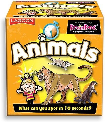 Mesa BrainBox Animales: Amazon.es: Juguetes y juegos