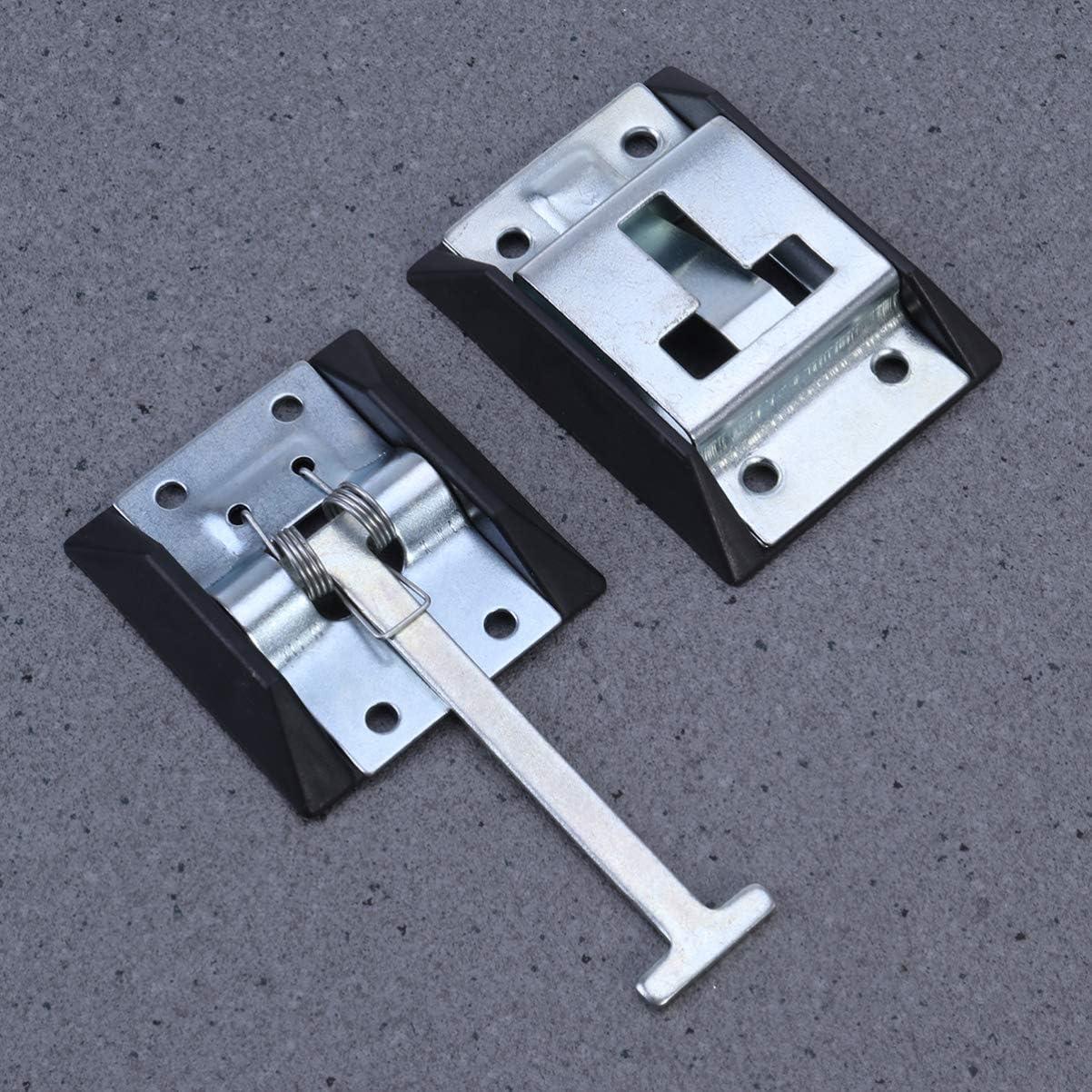 VORCOOL T-Style Eingangst/ürverschluss RV-T/ürhalter Edelstahl-Eingangst/ürverriegelung f/ür Wohnmobilanh/änger