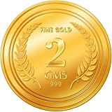 A Himanshu 2 gm, 24k (999) Yellow Gold Precious Coin