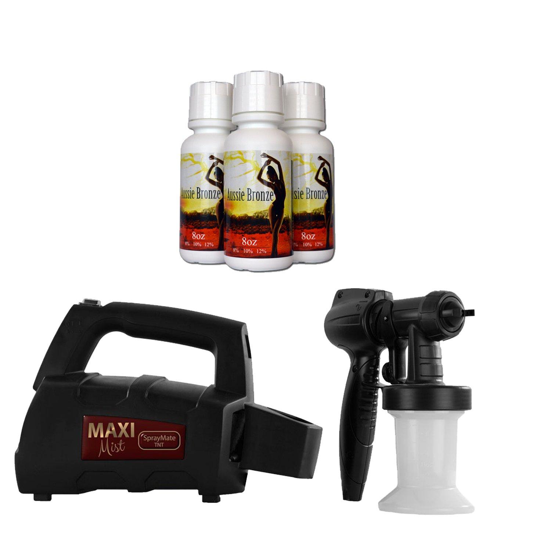 MaxiMist SprayMate TNT Professional Sunless Solution Spray Tanning System (HVLP)