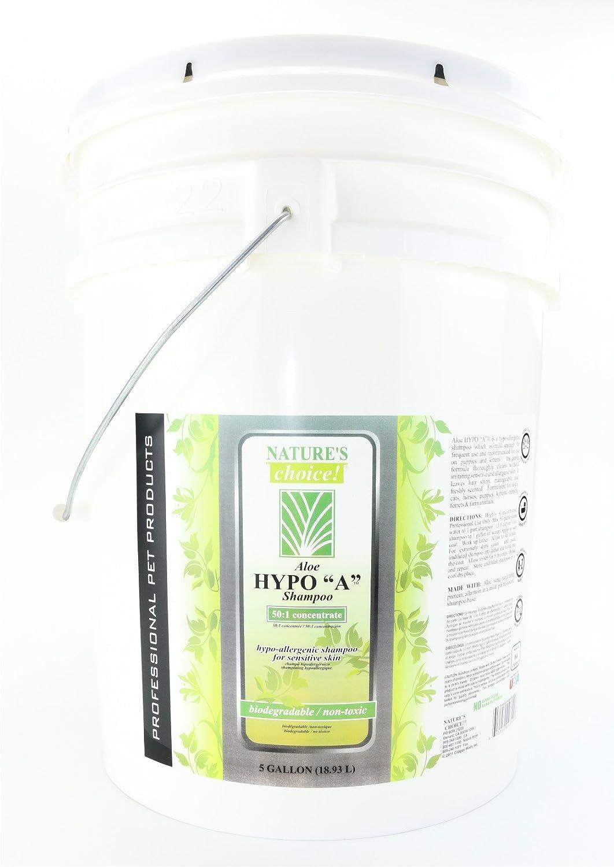 Elección de la Naturaleza Aloe Hypo un champú, 50: 1 5 GAL: Amazon ...