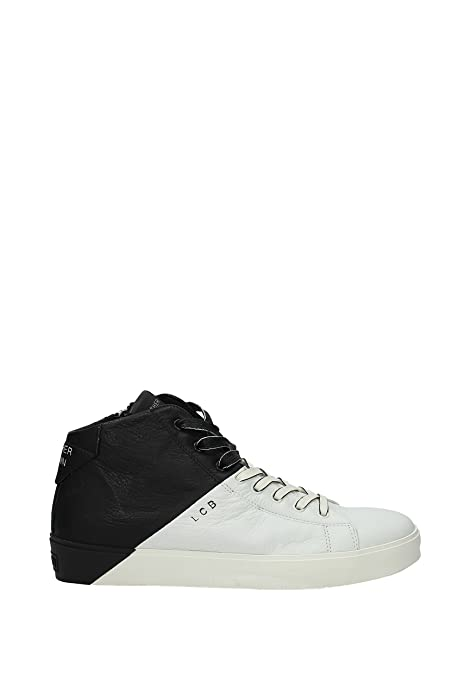 best loved 67ce8 948cb Leather Crown Sneakers Uomo - Pelle (MICONIC5) EU: Amazon.it ...