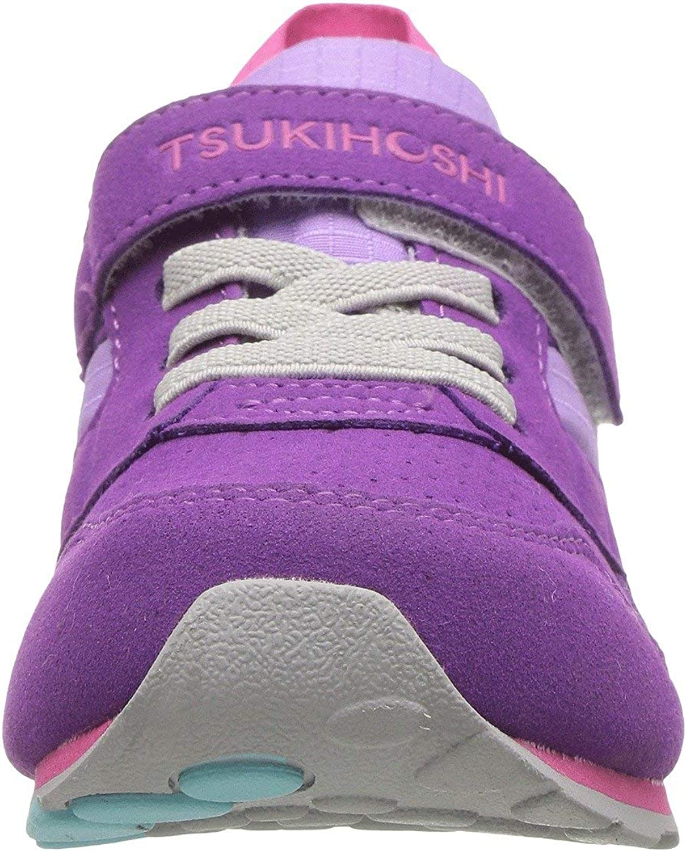 Machine Washable Tsukihoshi Racer Purple Lavender Lavender Girls Little Kids Toddler