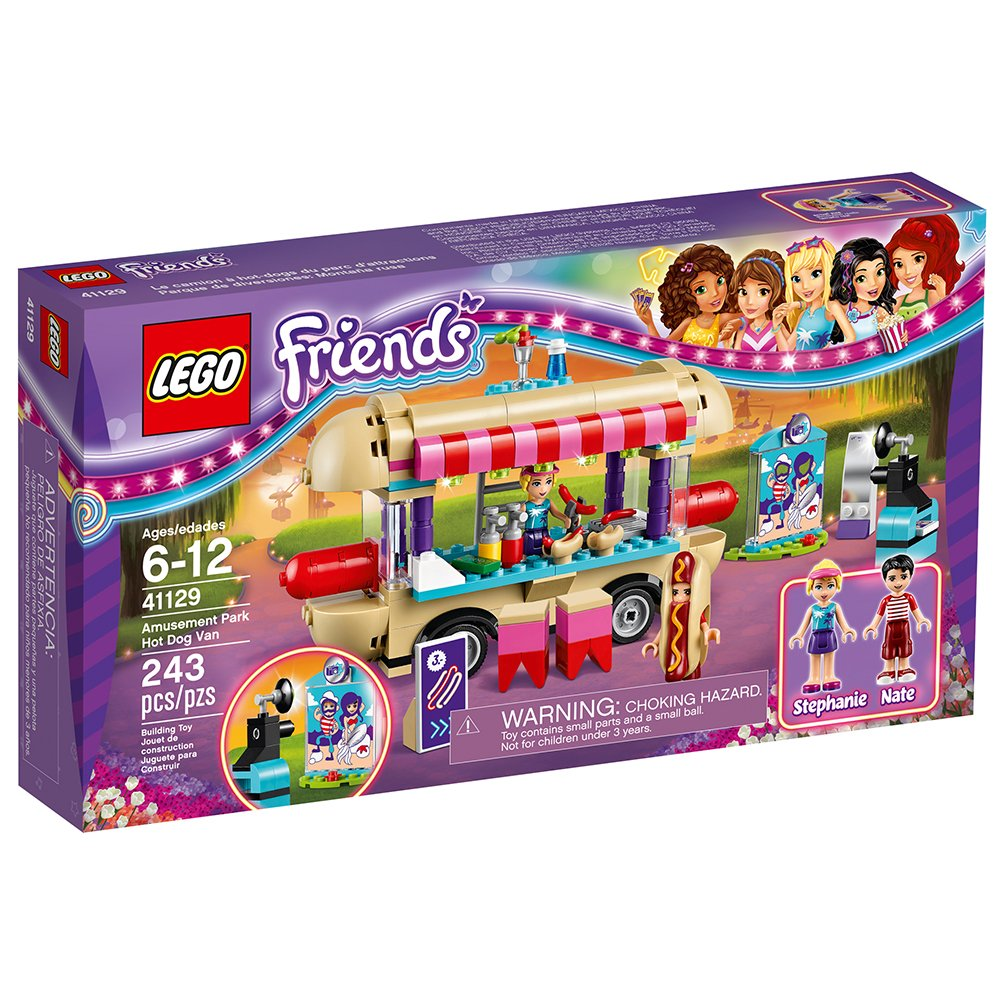 LEGO Friends 41129 Amusement Park Hot Dog Van Building Kit (243 Piece) by LEGO: Amazon.es: Juguetes y juegos