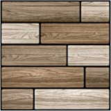 Mainstayae Vintage Self Adhesive Wallpaper Brick Removable 1pc 30 * 30cm Modern Home Decor Waterproof Wall Covering 3D…