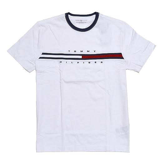 63dc229d73 Amazon.com: Tommy Hilfiger Mens Classic Fit Big Logo T-Shirt: Clothing