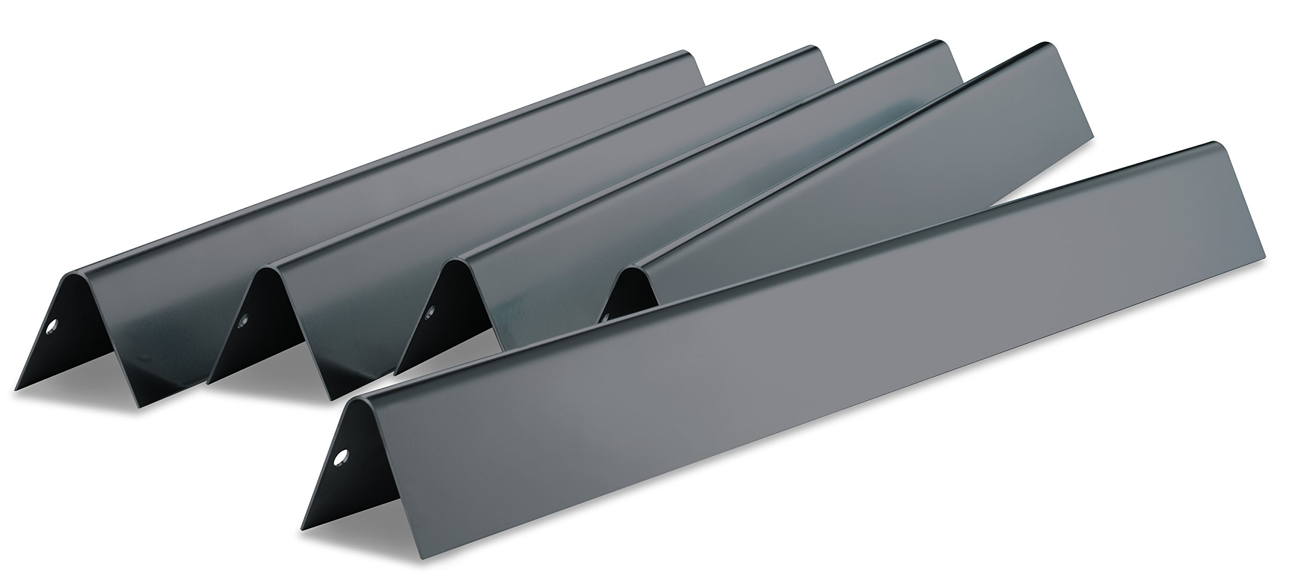Weber 7539 Porcelain-Enameled Flavorizer Bars - Fits Genesis 300 Series gas grills with side-mounted control panel by Weber
