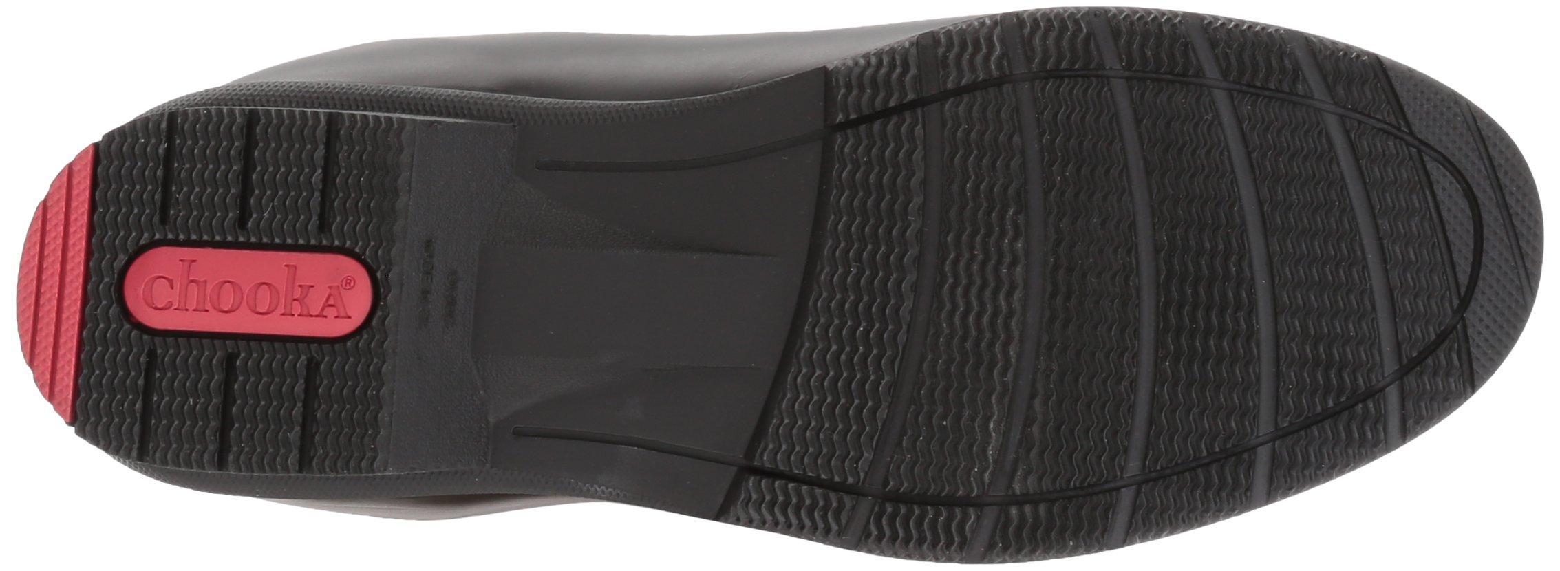 Chooka Women's Tall Memory Foam Rain Boot, Black, 7 M US by Chooka (Image #3)