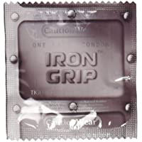 Iron Grip Condoms - Pack Size - 36 Pack