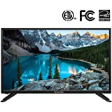 """PrimeCablesHD TV 720p with LED Backlit, 32"""" IPS LCD Panel Television with USB Port, 3 HDMI Input Channel, Energy Saving"""