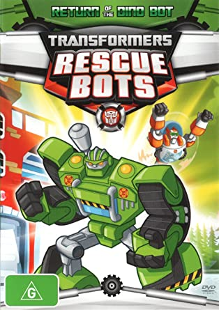 Amazon.com: Transformers Rescue Bots Return of the Dino Bot ...