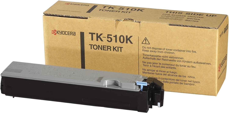 Kyocera Tk 510k Schwarz Original Toner Kartusche 1t02f30eu0 Kompatibel Für Fs C5020n Fs C5025n Fs C5030n Bürobedarf Schreibwaren