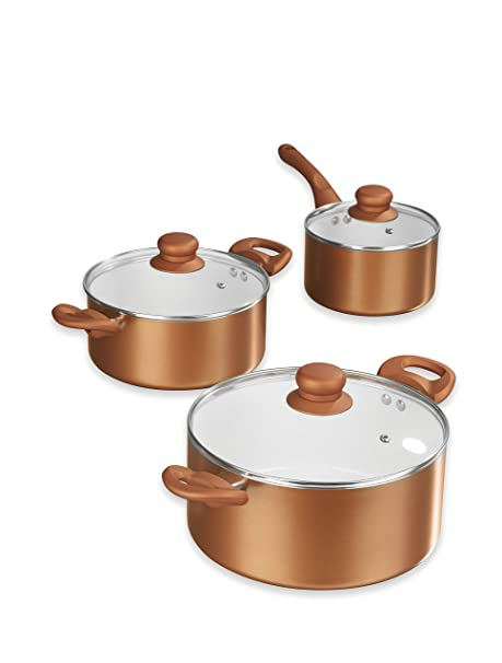 Pfannenset Kupfer