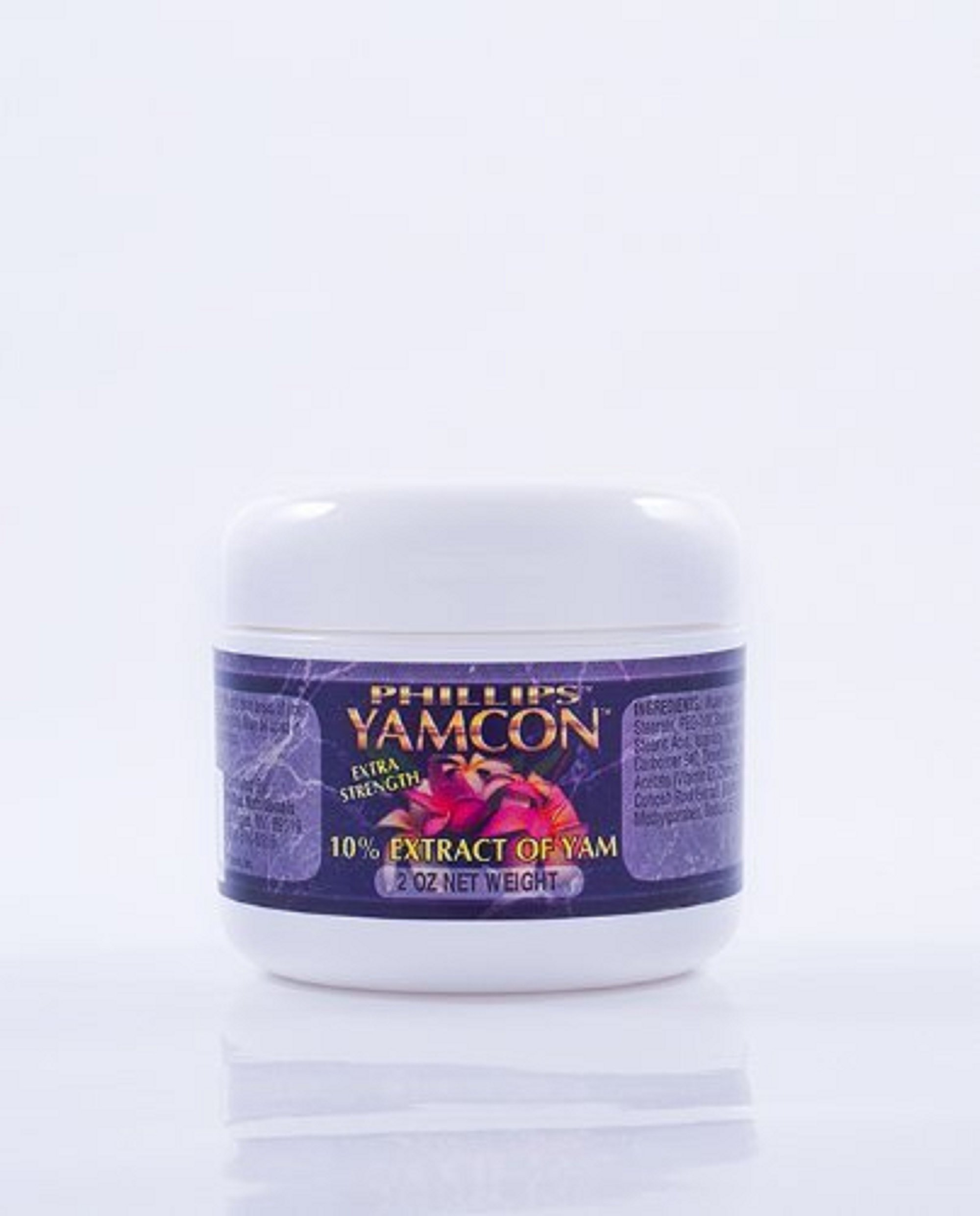 Yamcon Natural Bioidentical Progesterone Cream Extra Strength 10% 2 Oz.