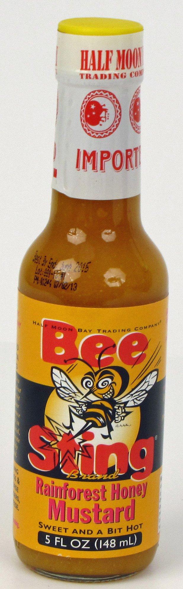 Bee Sting Rainforest Honey Mustard Hot Sauce