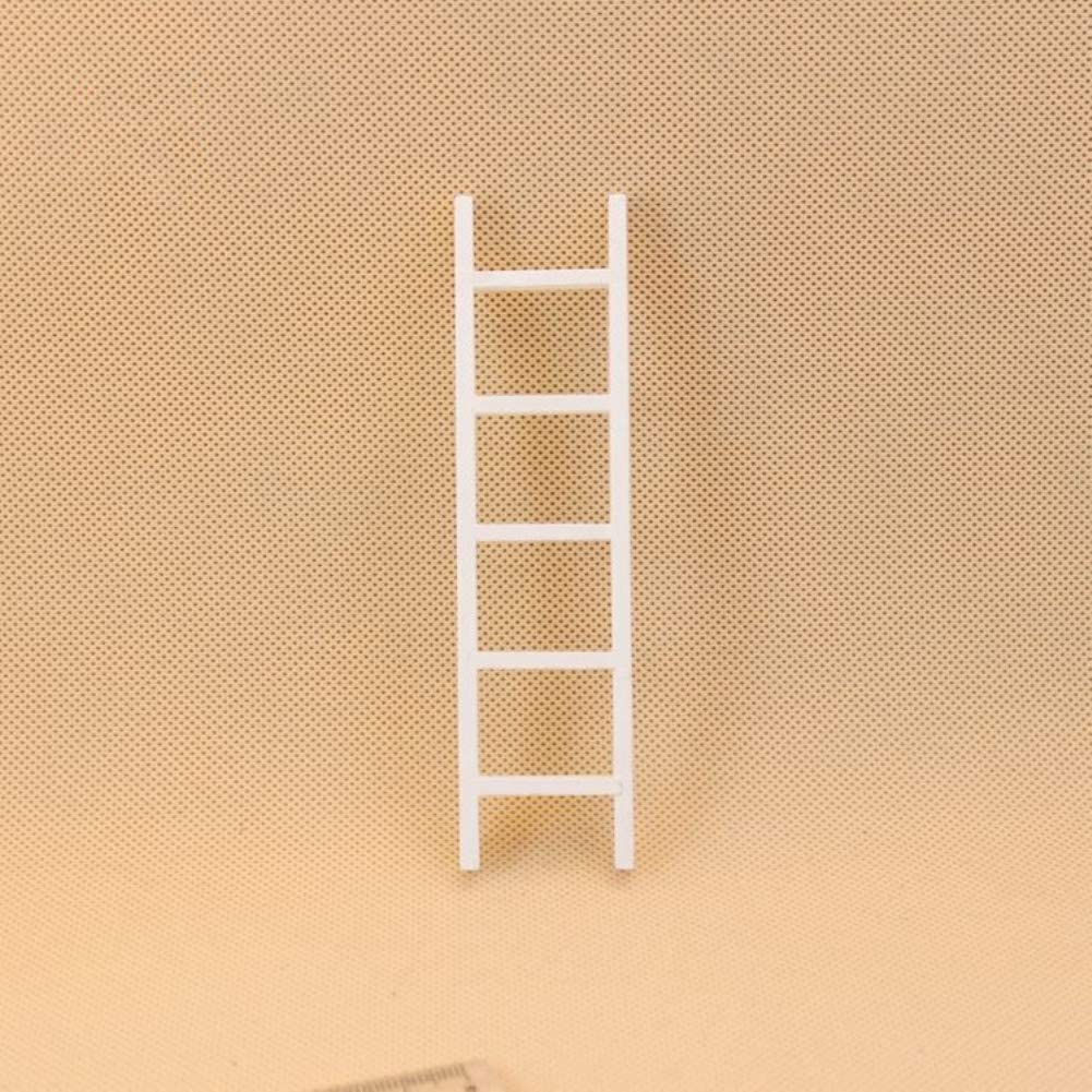 FairOnly - Mini Escalera de Madera Blanca para casa de muñecas 1:12: Amazon.es: Hogar