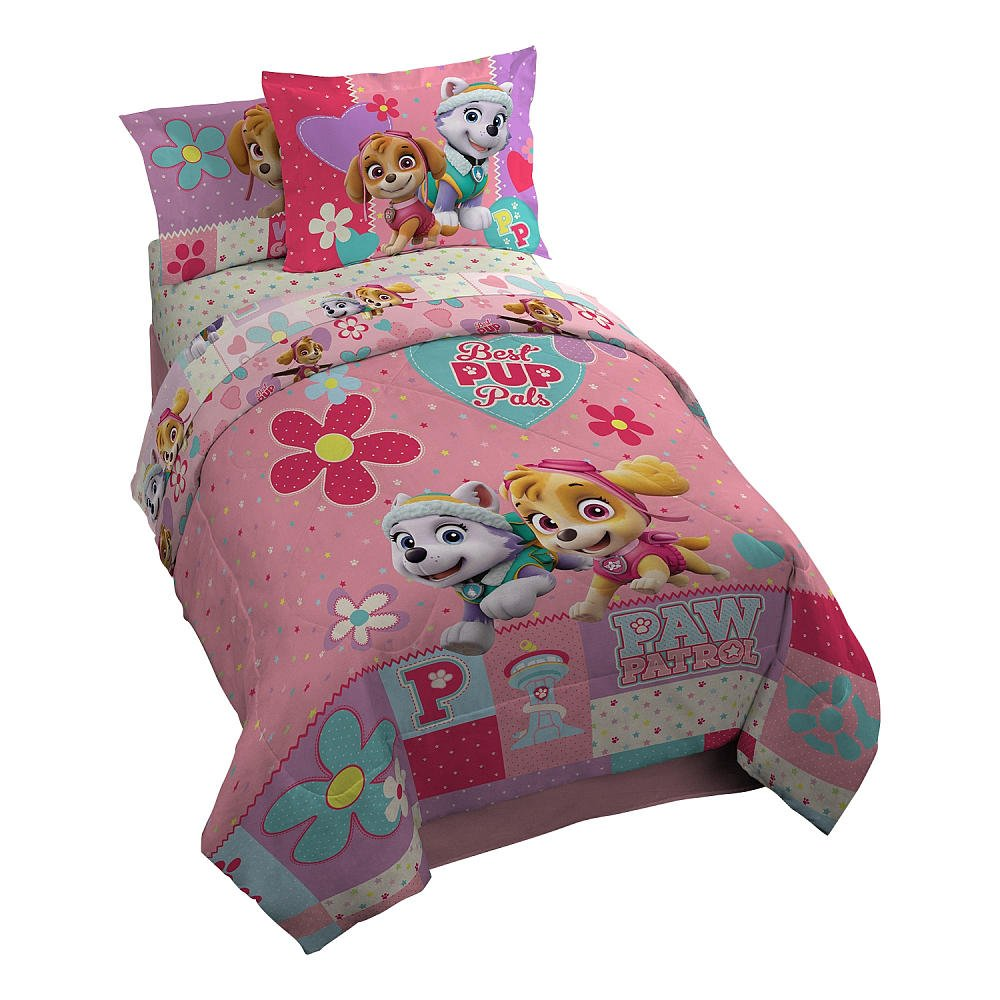 Paw Patrol We Are Pawsome Girls Twin Comforter Set