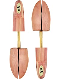Moneysworth and Best Men's Shoe Trees with Hook Heel, Red Cedar