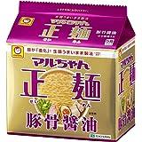 マルちゃん正麺 豚骨醤油 5食×6個