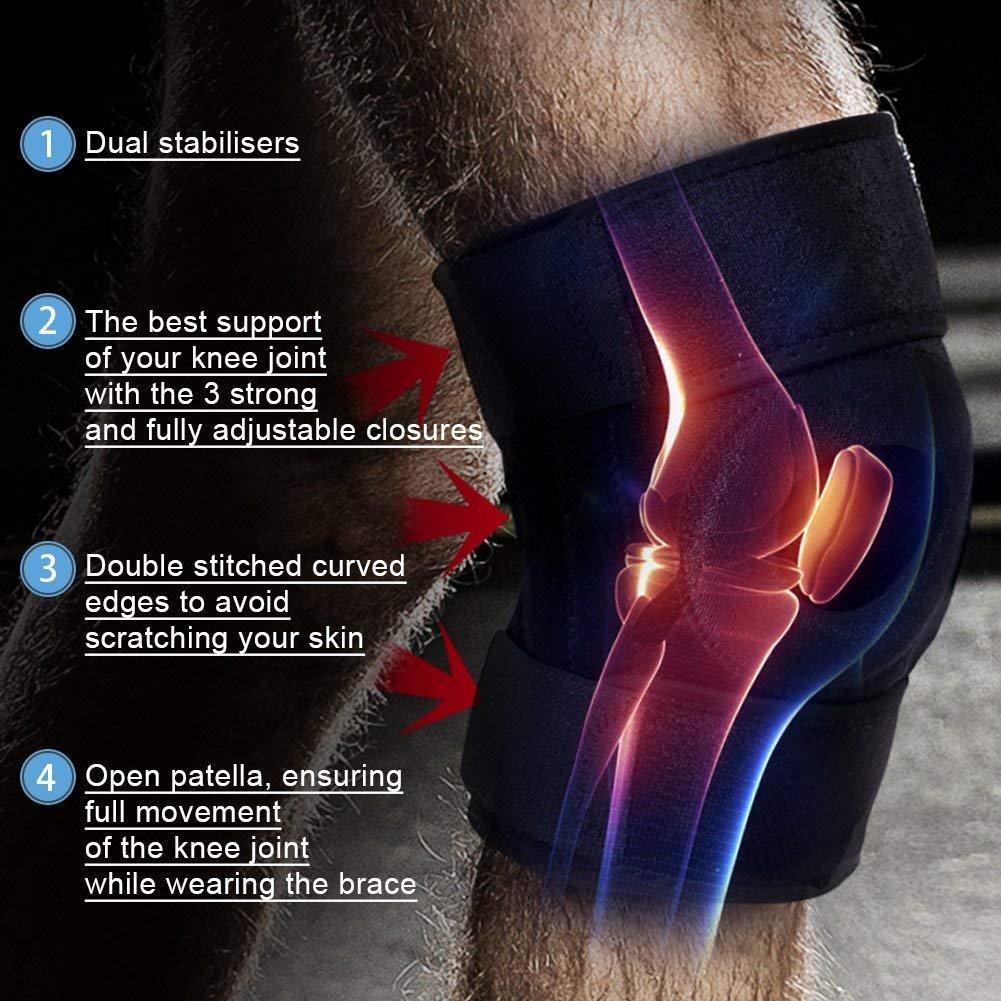Non-slip Neoprene Support & Compression Leg Brace For Knee