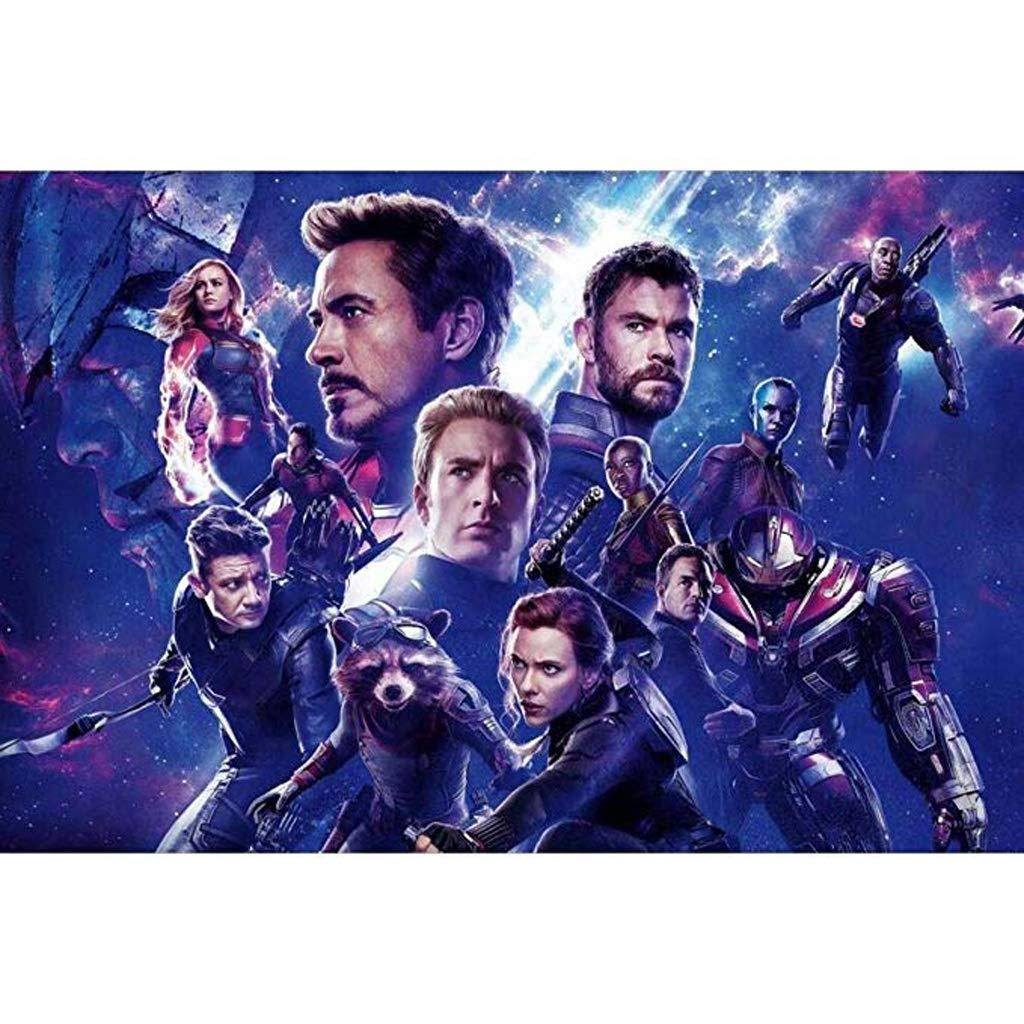 DJFT Rompecabezas Marvel Hulk Rompecabezas Avengers Captain ...