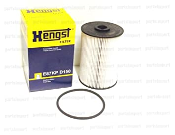 diesel fuel filter for vw golf jetta tdi hengst made in germany, fuel  filters - amazon canada