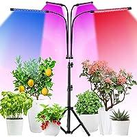 LED Grow Light, 4 Head 360° Rotatable Gooseneck Floor Plant Lamp with Tripod Stand Full Spectrum Brightness Height…