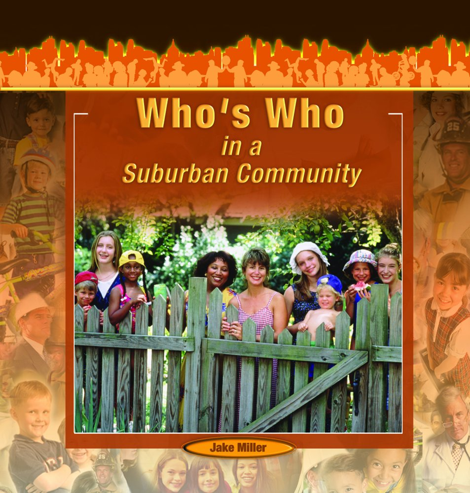 Who's Who in a Suburban Community (Communities at Work) PDF ePub ebook