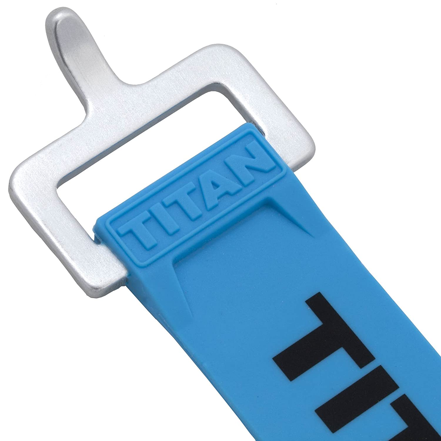 30, Fluorescent Blue Industrial Working Load TitanStraps Pack of 2 70-lb Titan Straps