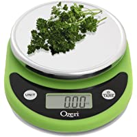 Ozeri ZK14-L Pronto Digital Multifunction Kitchen and Food Scale, Compact, Lime Green