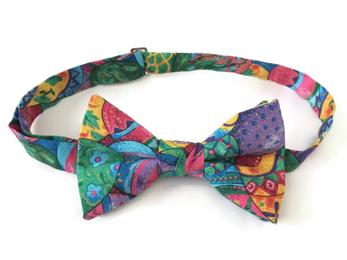 Pre-tied Bow Tie Easter Holiday Design for Baby to Men's (Boys)