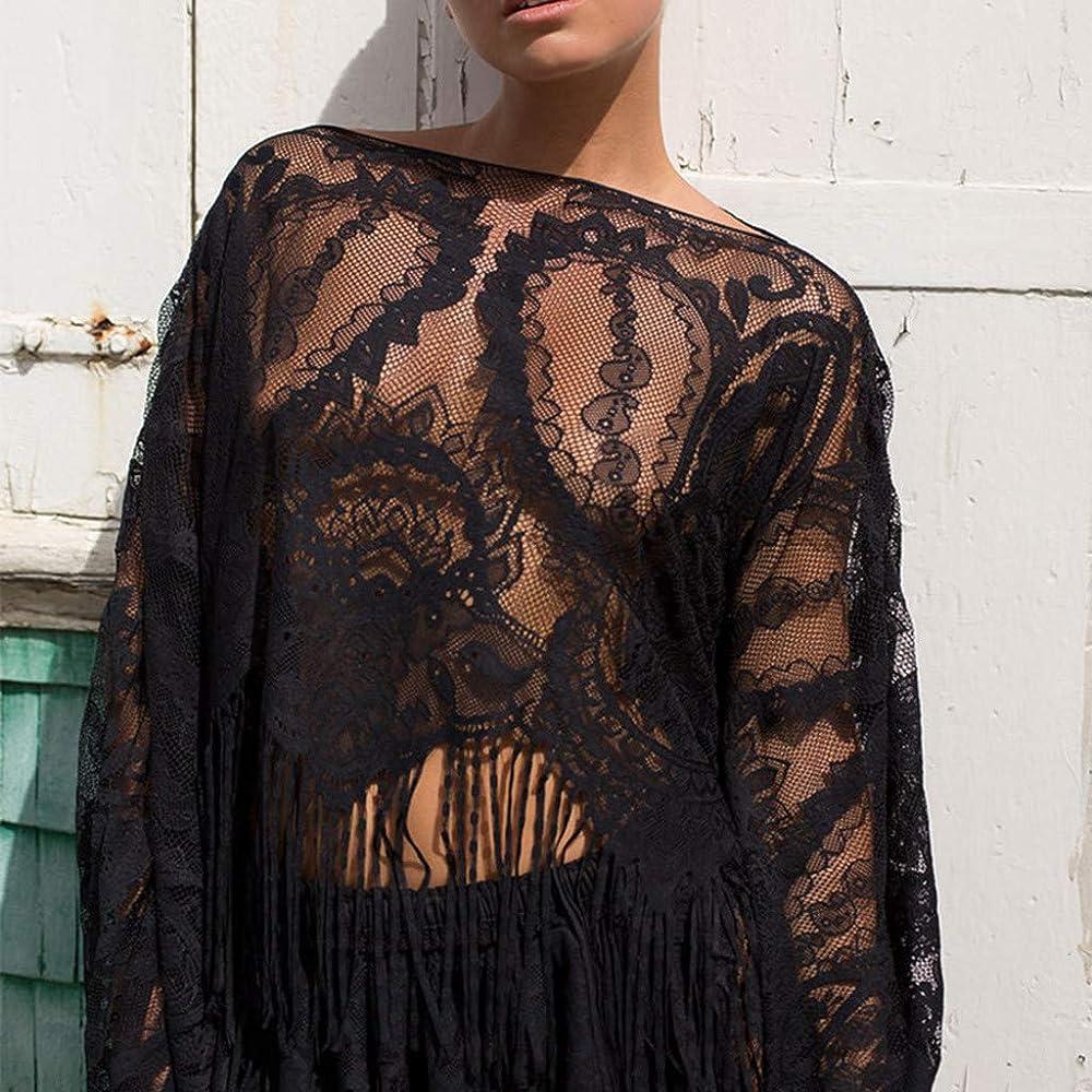 FRAUIT Camisa Y Falda de Protección Solar para Mujer Traje de BañO ...