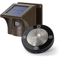 1/2 Mile Long Range Solar Wireless Driveway Alarm Outdoor Weather Resistant Motion Sensor & Detector- Security Alert…