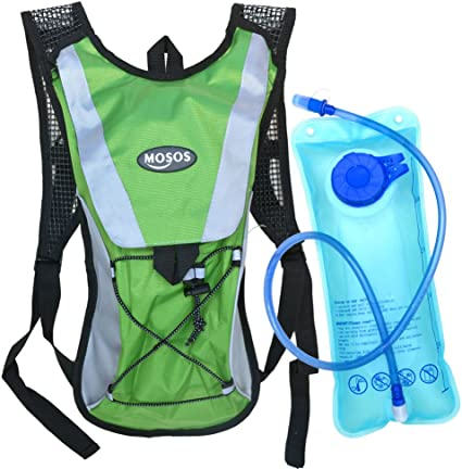 Water Backpack with 2L Water Bladder Hytek Gear Hydration Backpack Perfect for Running Cycling Biking Hiking