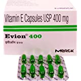 Evion Vitamin E (100 Capsules) 400mg