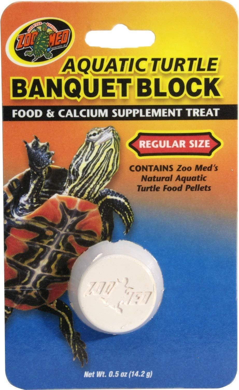 Zoo Med Aquatic Turtle Banquet Block [Set of 2] Size: Regular - Value Pack (5.25