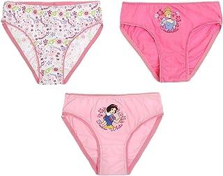 Disney Princess Girls 3 pack brief - fuchsia