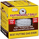 Farting Golf Ball Jumps Wobbles & Farts - Great Gag Gift For The Course