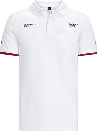 Porsche Motorsport T-shirt pour homme Noir