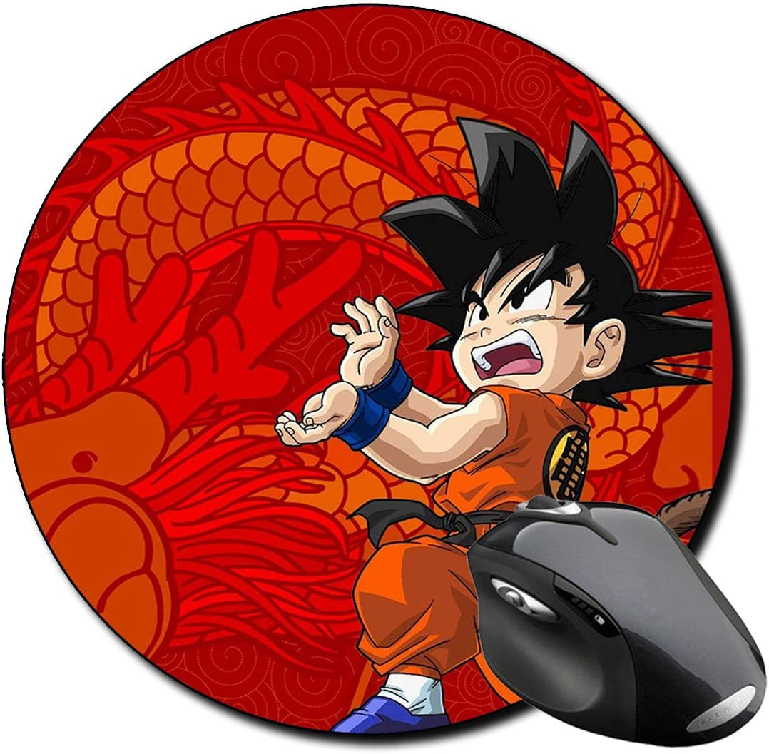 Dragon Ball Z GT DBZ H - Alfombrilla de ratón redonda para PC