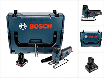 Bosch Akku-Stichsäge GST 12V-70 Professional 12 V Ladegerät 1x 2,0 Ah Akku