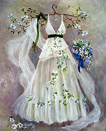 Diy Wedding Veil.Diy Crystals Painting Kit 5d Resin Full Of Diamond Painting By Number Kits Wedding Veil 30x40 Cm 12x15 Inches