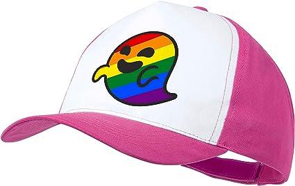 MERCHANDMANIA Gorra Rosa GAYSPER Fantasma Gay VOX Color Cap ...