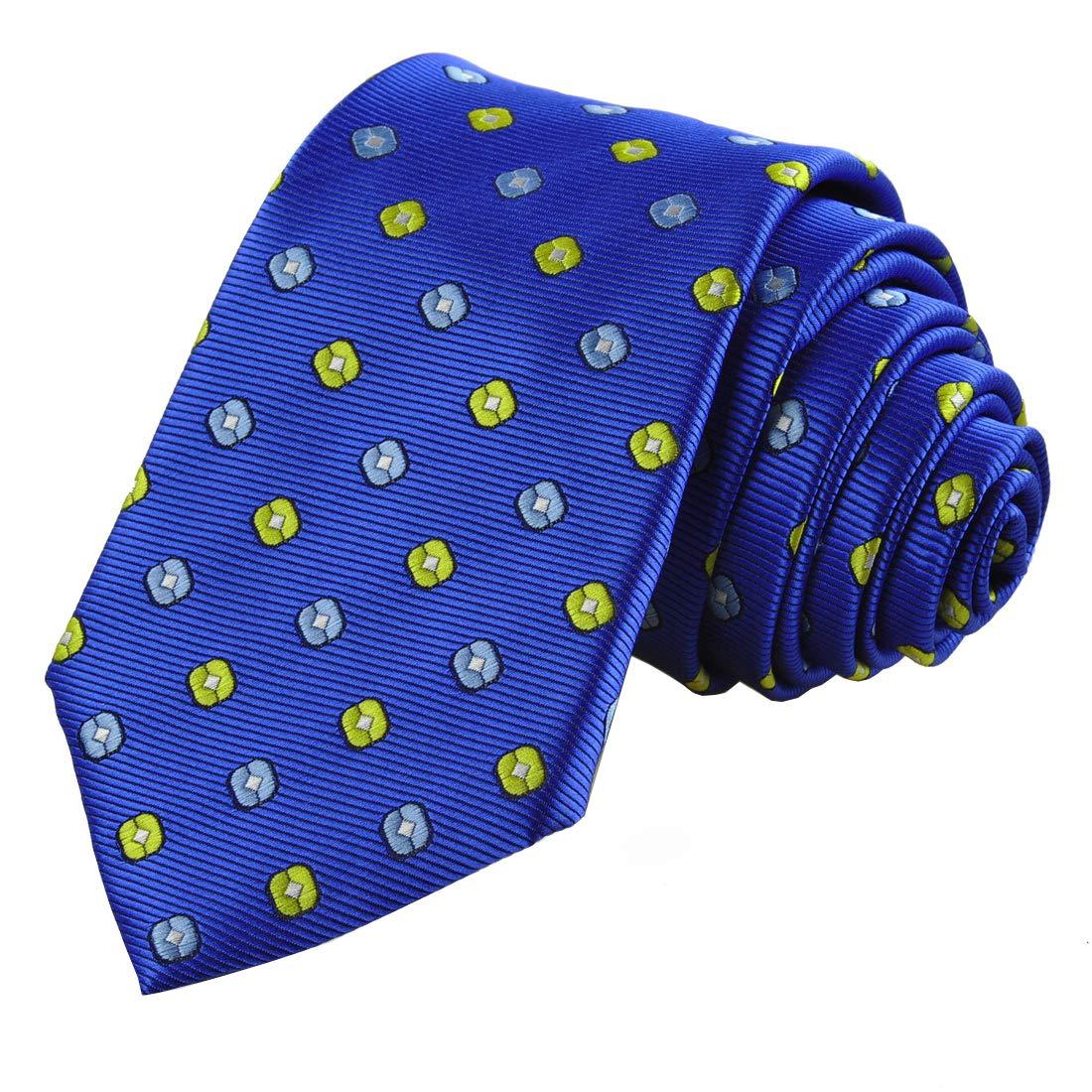 Gift Box KissTies Polka Dot Tie Mens Necktie Wedding Ties